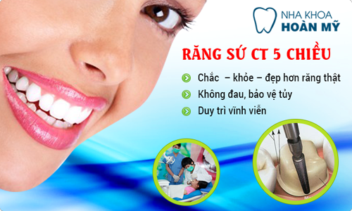 Bọc Răng sứ Cercon Zirconia HT