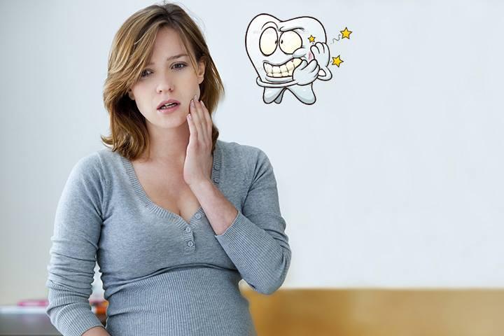 Mẻ răng khi mang thai 1