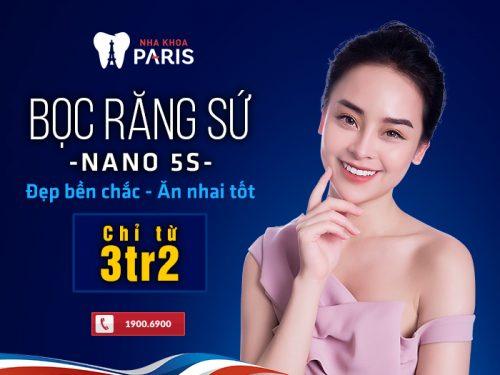 Tiết kiệm chi phí làm cầu răng nhờ công nghệ Nano 5S