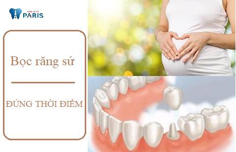 Bọc răng sứ khi mang thai vẫn có thể thực hiện được nhưng cần đúng thời điểm, tuần thai.