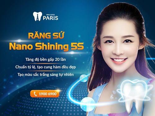 phát huy ưu điểm của răng sứ Cercon với công nghệ Nano Shining 5s