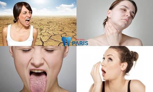 Khô miệng buồn nôn - Nguyên nhân & Cách chữa trị DỨT ĐIỂM 3