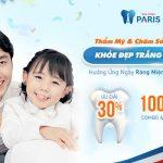 Thẩm mỹ & chăm sóc răng miễn phí nhân ngày Sức khỏe răng miệng thế giới 20/03