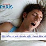 Khô miệng khi ngủ: Nguyên nhân và cách điều trị hiệu quả